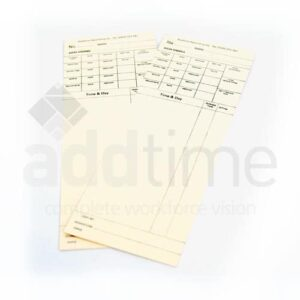 AD 1007 Clock Cards