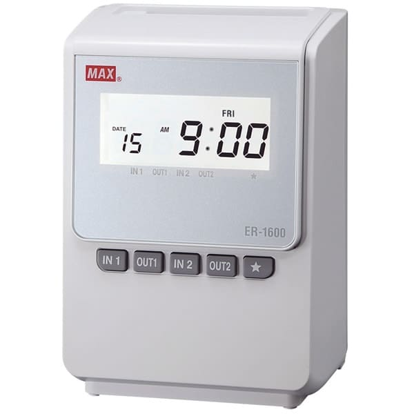 Max-ER-1600 Intelligent Clock Machine