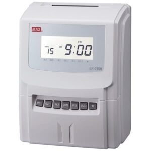 Max ER-2700 Intelligent Clocking In Machines