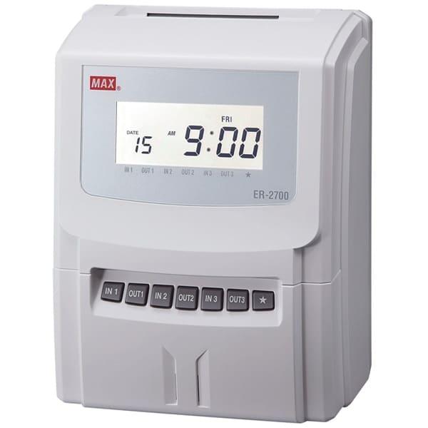 Max ER-2700 Intelligent Clocking In Machines