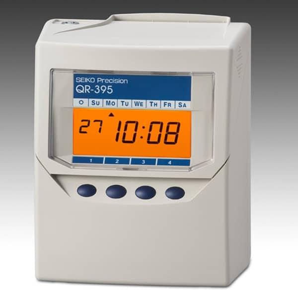 SEIKO-QR-395 Clocking In Machine