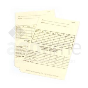 Maruzen Atr 701 Weekly Clock Cards