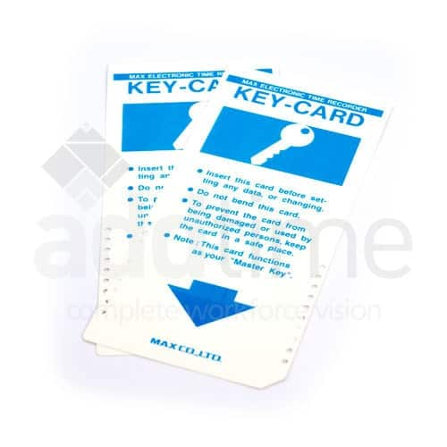Max Key Cards